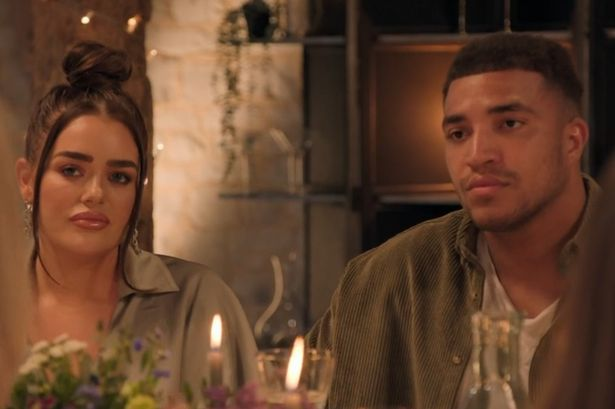 MAFS UK dinner party descends into chaos as Morag and Amy argue over Josh bombshell