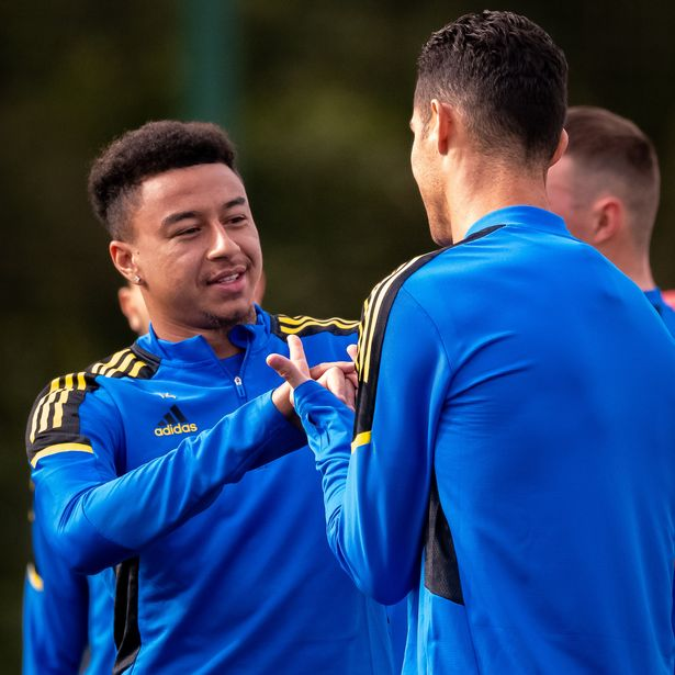 Man Utd fans love what Jesse Lingard taught Cristiano Ronaldo during training