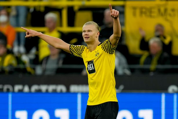 Erling Haaland has become a star since joining Borussia Dortmund