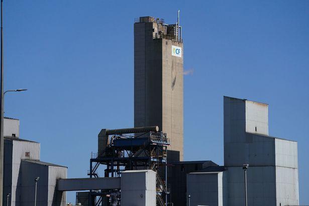 CF Fertilisers plant in Billingham, Cleveland