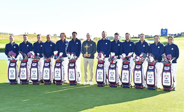 The USA team at the 2018 Ryder Cup.
