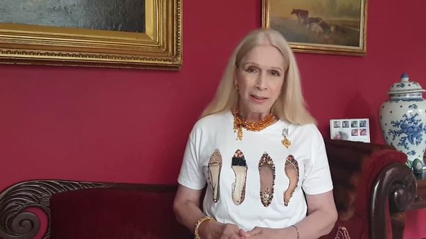 Lady Colin Campbell has defended Meghan Markle in a rare move