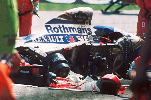 Ayrton Senna was involved in a fatal racing crash driving for Williams at the 1994 San Marino Grand Prix