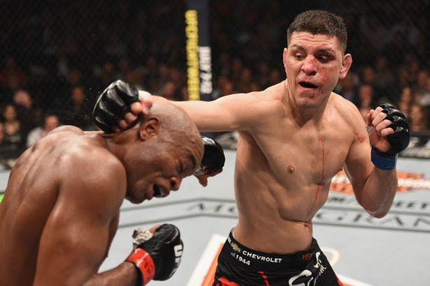 Nick Diaz last graced the Octagon at UFC 183 in 2015