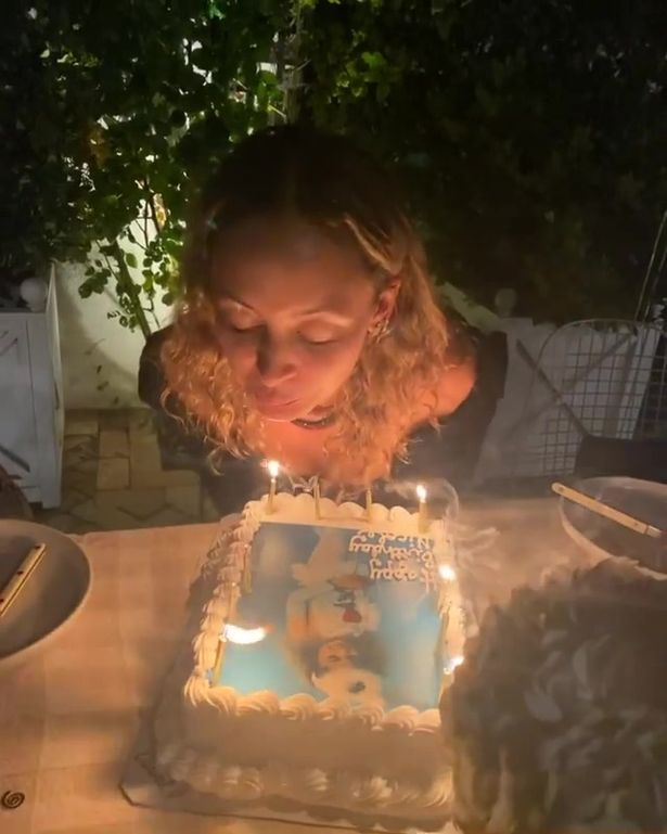 Nicole Richie celebrated her 40th birthday this week, but experienced the ultimate scare when her hair caught alight