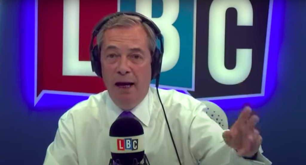 Nigel Farage's quote about 'moving abroad if Brexit is a disaster' now looks more awkward than ever