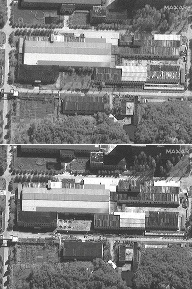 Satellite images of the Yongbyon Nuclear Research Facility show it is being renovated