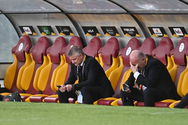 Manchester United boss Ole Gunnar Solskjaer has hit out at social media usage within his squad