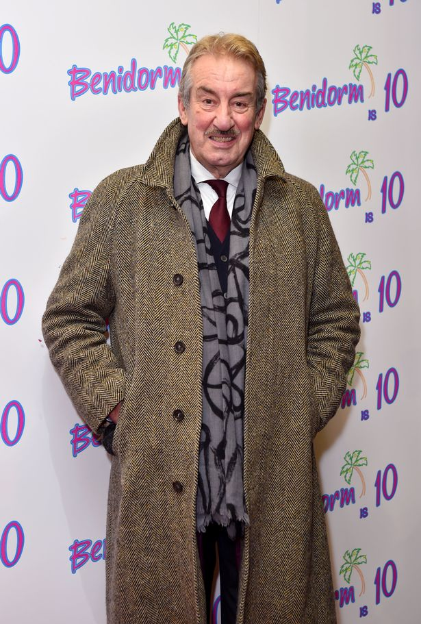 John Challis during the Benidorm Is 10 event, held at the Mayfair Curzon, London, Jan 2018
