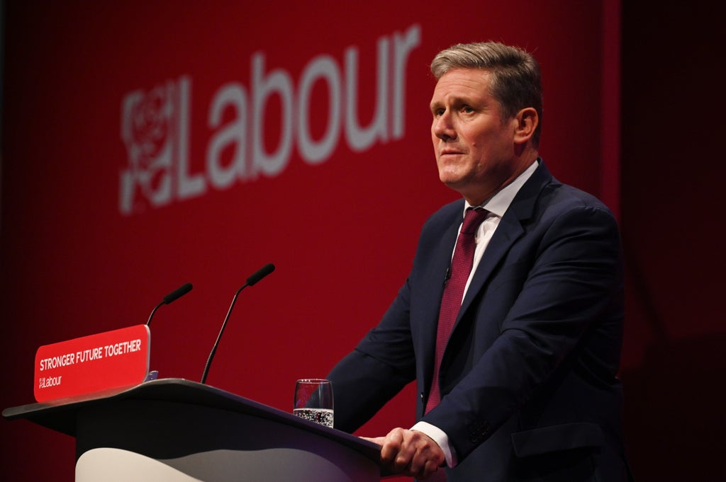 Outrage as Keir Starmer heckled at Labour conference while talking about his mother's death