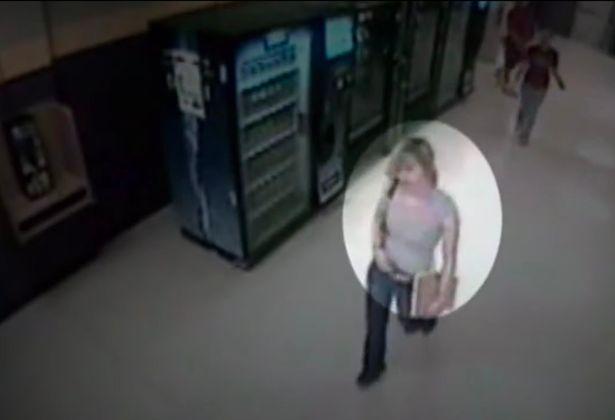 CCTV footage shows Kara leaving her school in May 2007