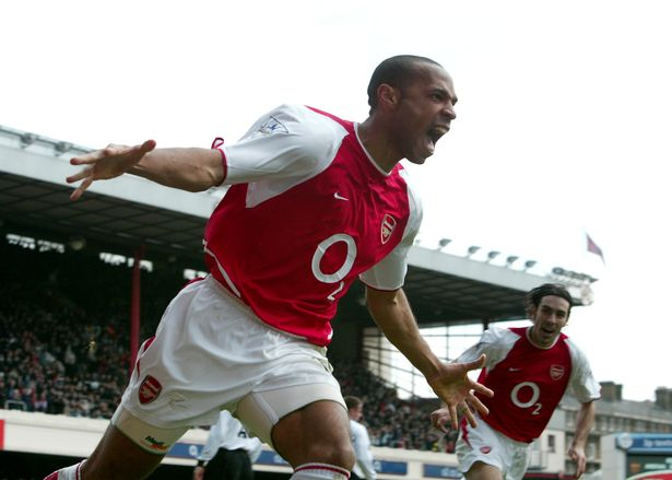 Thierry Henry is the Premier League's all-time goals per game top scorer