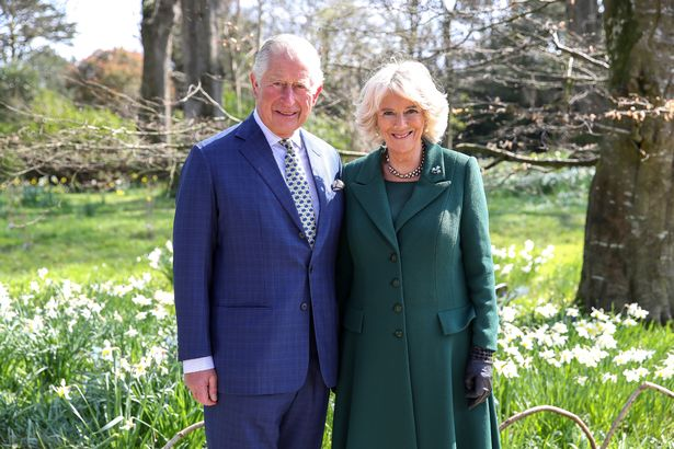 Prince Charles, Prince of Wales and Camilla, Duchess of Cornwall attend the reopening of Hillsborough Castle in 2019