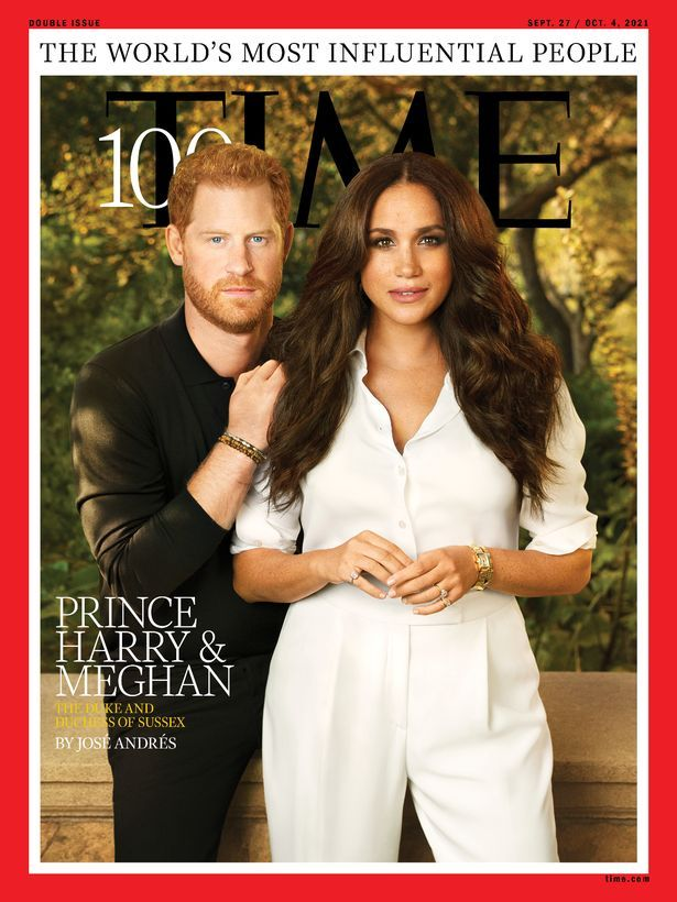 Prince Harry and Meghan Markle made the Top 100 league table of Time's most influential people of the world