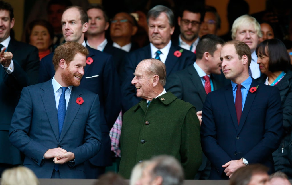 Prince Philip used to squirt mustard on the ceiling in a prank that got him in trouble with Queen, royals say
