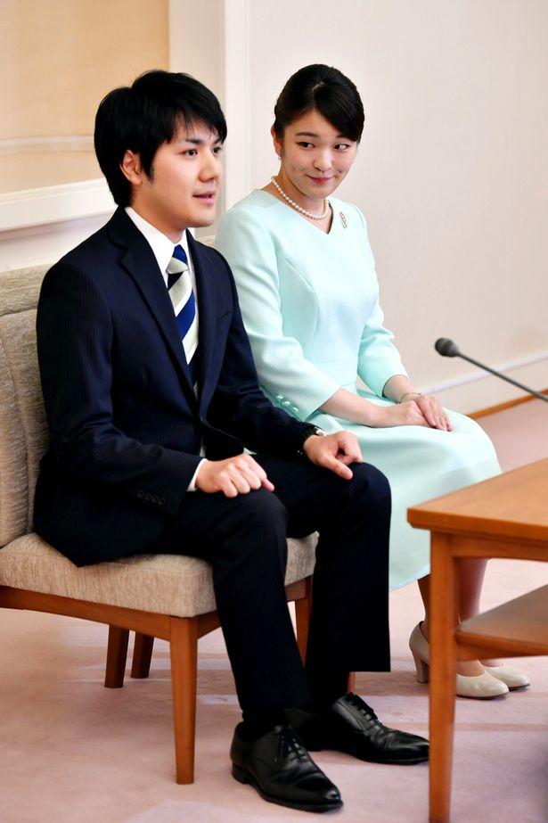 Princess Mako and fiance