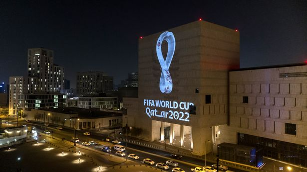 The FIFA World Cup Qatar 2022™️ Official Emblem was projected on to a number of iconic buildings in Qatar and across the Arab world and displayed on outdoor digital billboards in more than a dozen renowned public spaces in major cities.