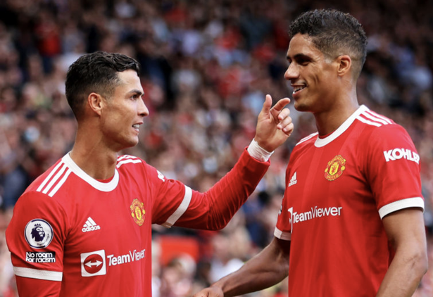 Raphael Varane is happy for Cristiano Ronaldo to be the centre of attention at Manchester United