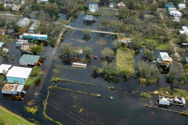 flood water hurricane Ida