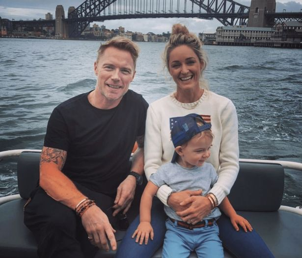 Ronan Keating and wife Storm 'worried sick' by hospitalised son but post hopeful update