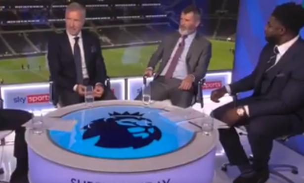 Roy Keane and Micah Richards had a fiery debate in the Sky Sports studio