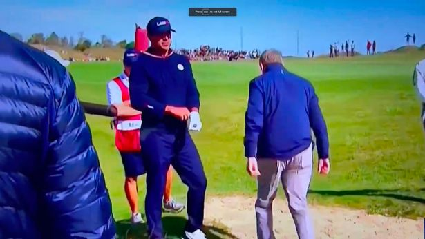 """Ryder Cup star Brooks Koepka snaps """"f*** you"""" in angry exchange with referee"""