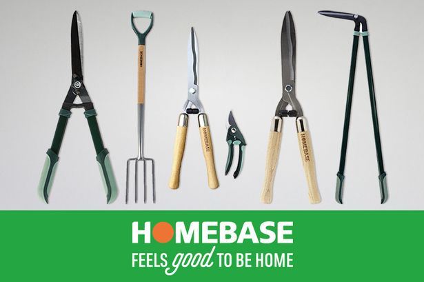 SAVE £5 WHEN YOU SPEND £20 or more on selected gardening equipment at HomeBase
