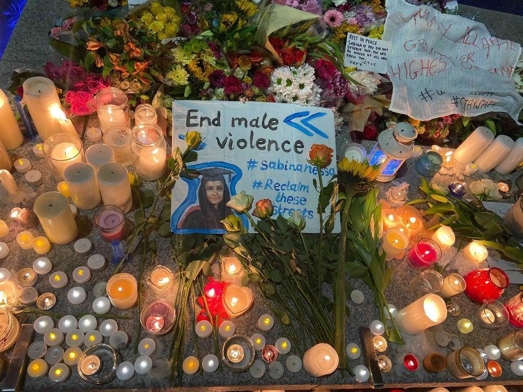 Sabina Nessa: 10 photos and videos as hundreds attend vigil to honour murdered teacher