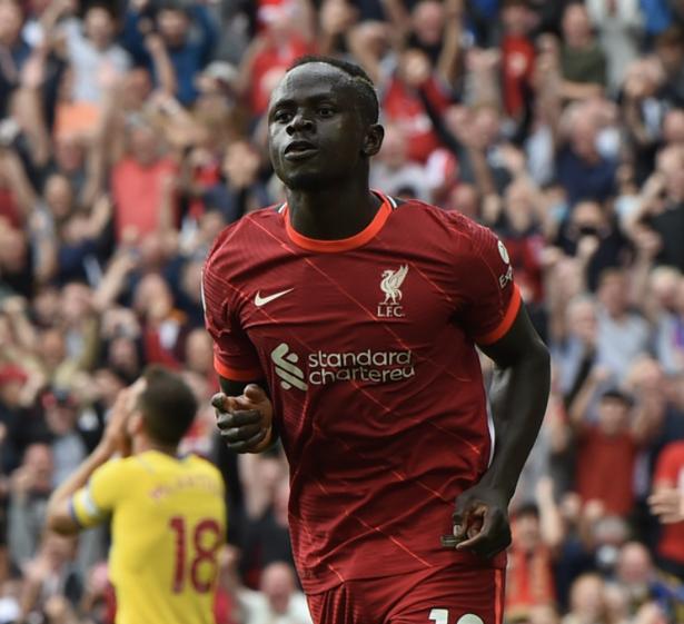 Sadio Mane has scored in nine successive Premier League games against Crystal Palace