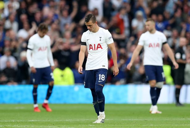 Tottenham's league woes against Chelsea continued on Sunday