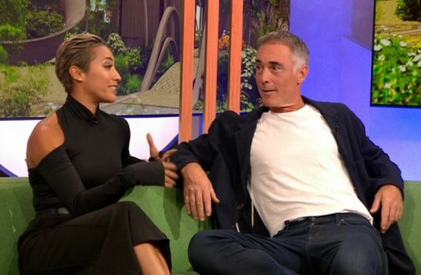 Strictly's Greg Wise says his dance partner 'bit' him and 'strapped him to a broom'