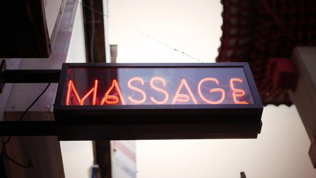 Camila works at a massage parlour in Bristol (stock image)