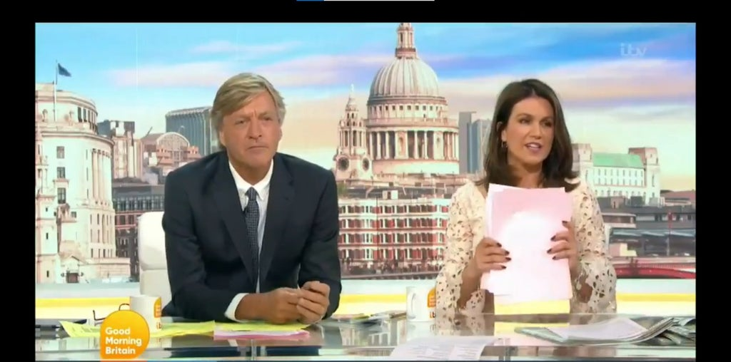 Susanna Reid encourages viewers to watch video about Boris Johnson 'lying' following Tory's GMB appearance