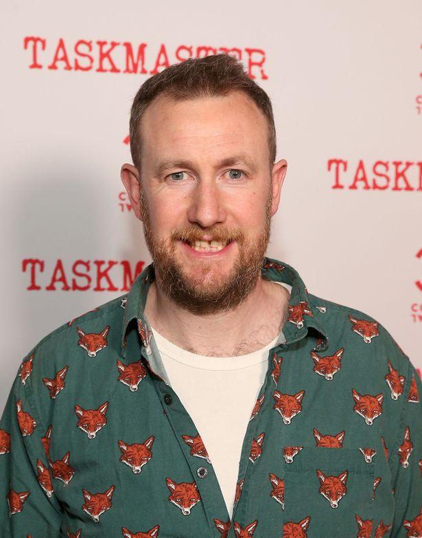 Alex Horne attends Comedy Central's Taskmaster Premiere