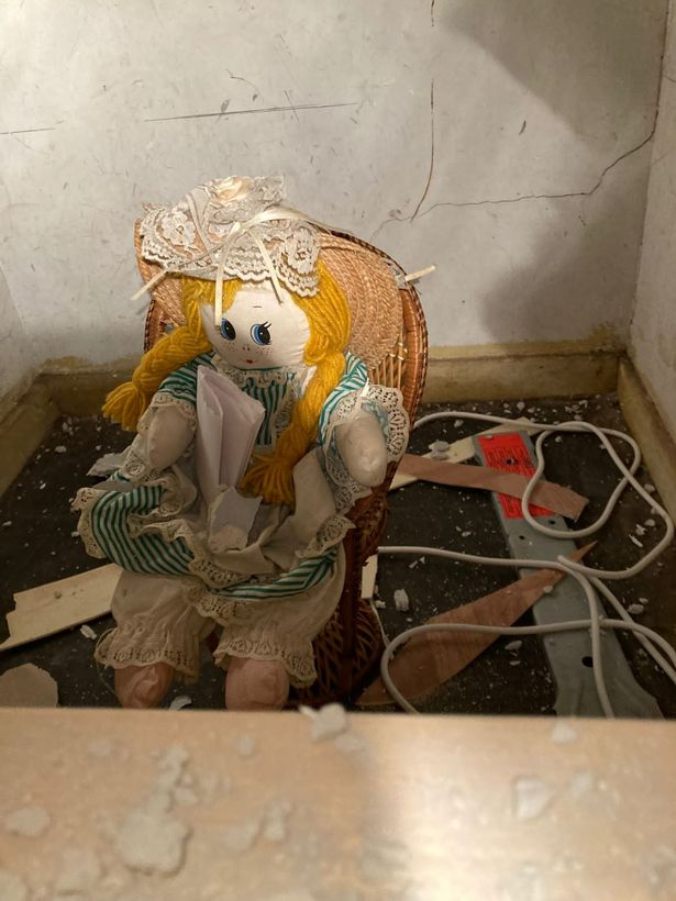 The doll apparently stabbed its original owners to death