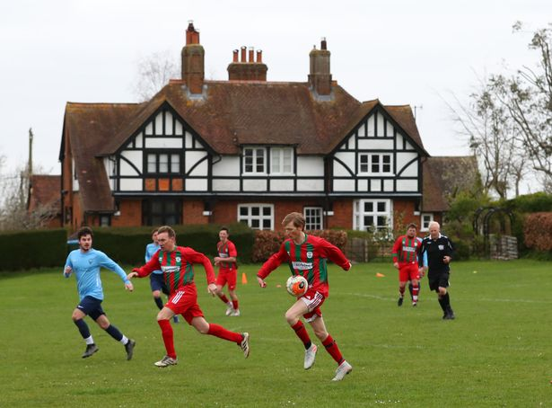 Each amateur football club has an average of five matches cancelled or postponed per season due to severe weather