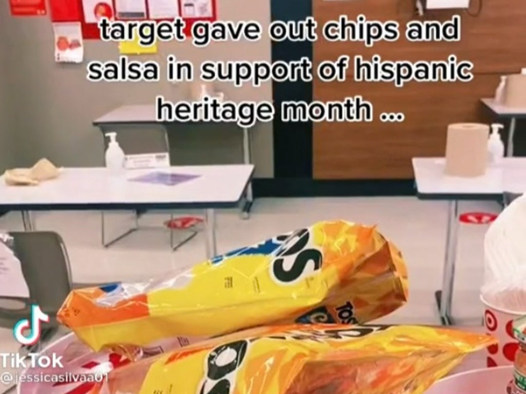 Tiktoker claims Target gave out chips and salsa 'in support of' Hispanic Heritage Month