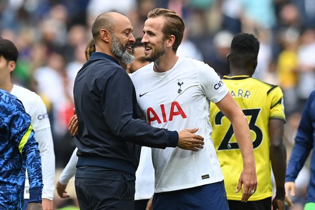 Tottenham boss Nuno Espirito Santo would not swap Harry Kane for Romelu Lukaku