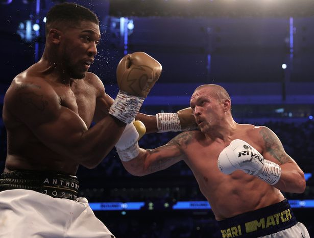 Anthony Joshua was outboxed by Oleksandr Usyk as he lost his WBA, WBO and IBF belts