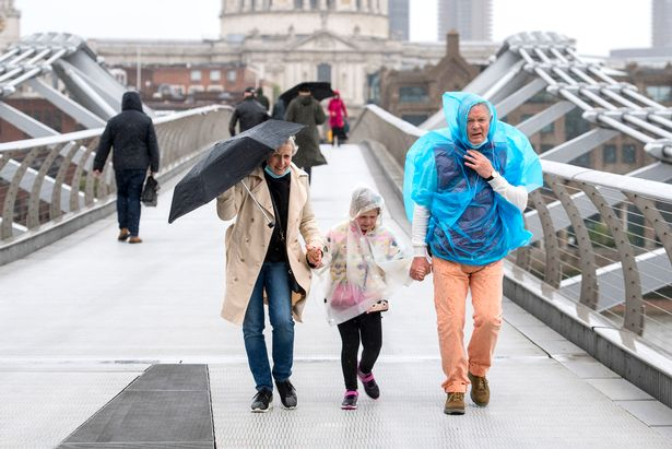 A 12-hour weather warning has been issued for Sunday