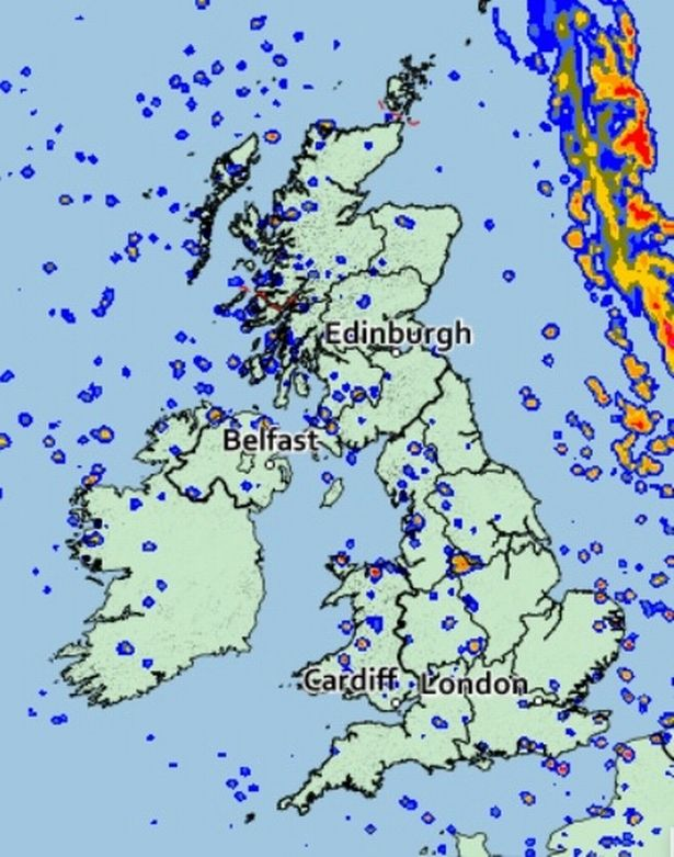UK weather: Sunny spells expected for many today before horribly wet end to the week