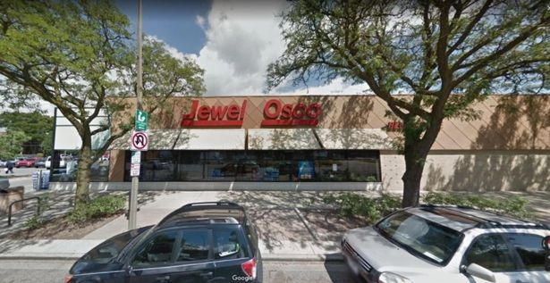 The incident took place outside a Jewel-Osco store in Oak Park, a village about 10 miles from Chicago