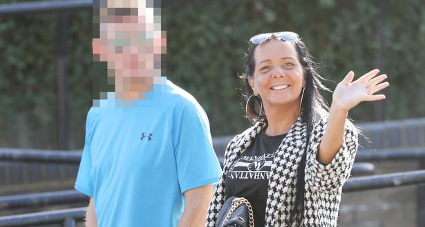 Chantelle Smith, 40, swore at police officers before she kicked one of them in the shin