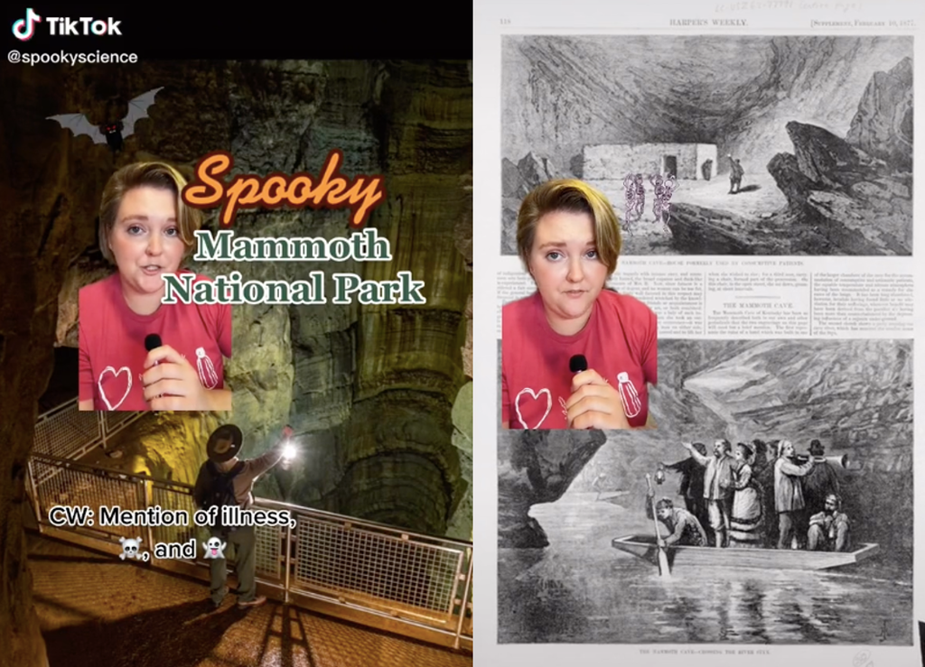 Viral TikTok reveals the disturbing history of hauntings at a US national park