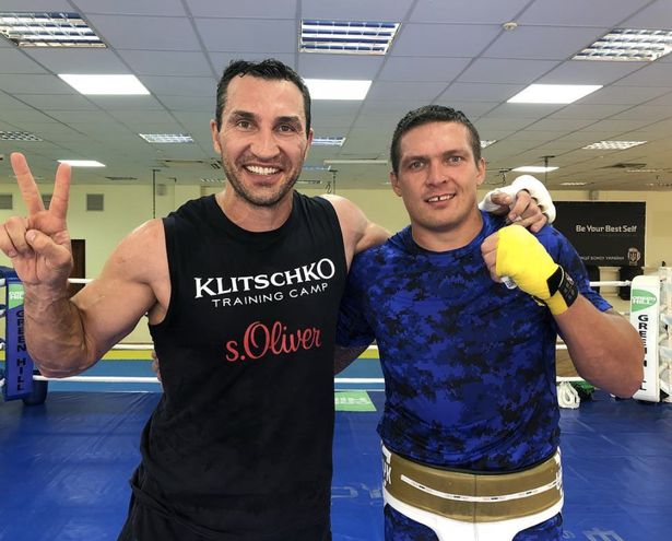Wladimir Klitschko has previously sparred with compatriot Oleksandr Usyk