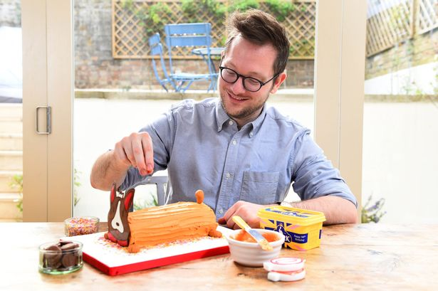 Edd was the first winner of the Great British Bake Off when the show first aired in 2010