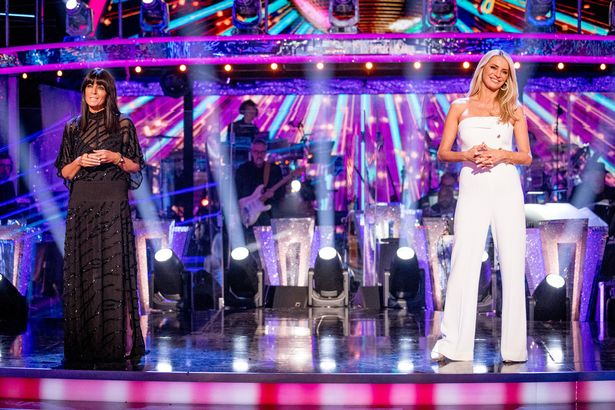 Strictly Come Dancing - Launch Show. Claudia Winkleman, Tess Daly -