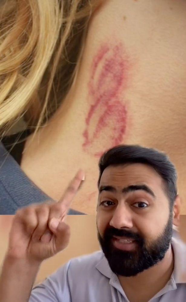 Dr Karan Rajan made a TikTok video about the paralysed woman