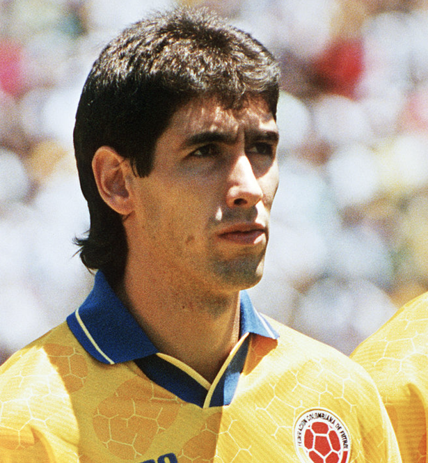Andres Escobar was a regular in the Colombian national team
