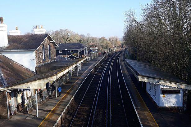 Rowlands Castle railway station